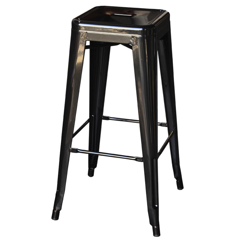 Black tolix stool