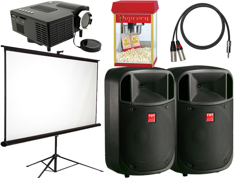 Outdoor cinema experiance package