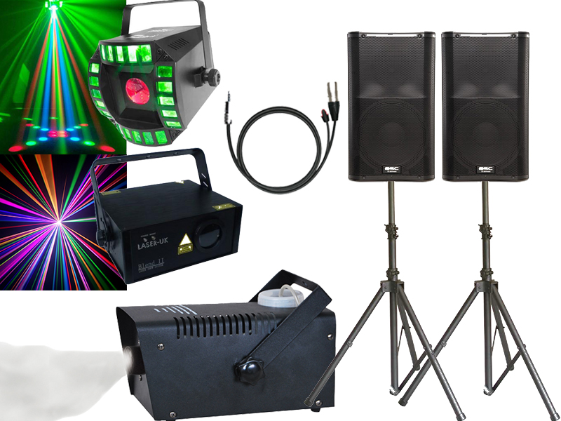 Pro house party package