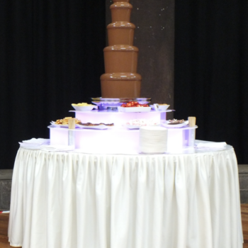 king chocolate fountain