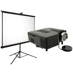 Projector screen package
