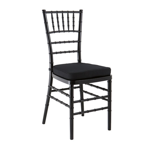 black tiffany chair hire in sydney party hire world