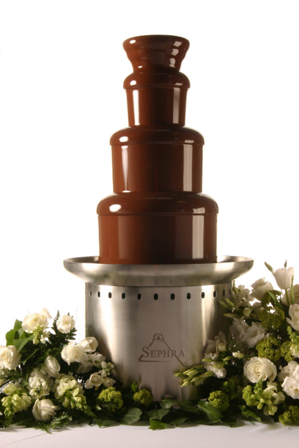 Medium commercial chocolate fountain