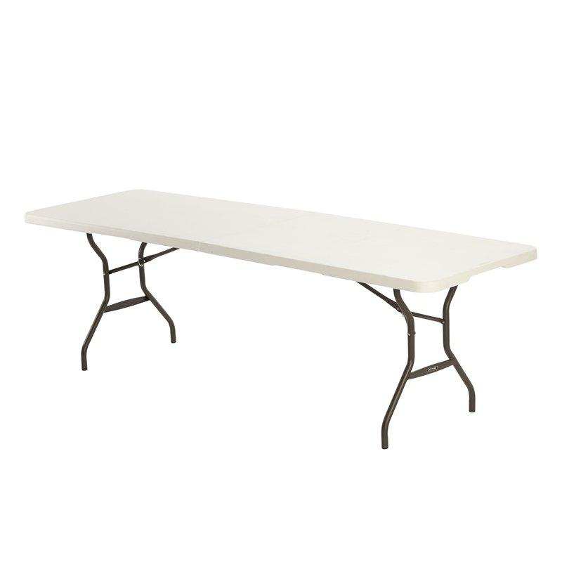 2.4m Plastic Trestle Table